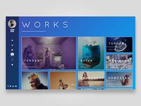 Works Portfolio Layout