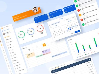 Plus Workflow - Management Desktop App - Suncode x Divante management workflow app design product design ux ui