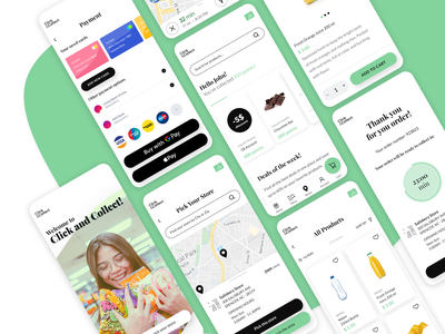Click & Collect Accelerator ecommerce product design divante vue storefront app ui ux