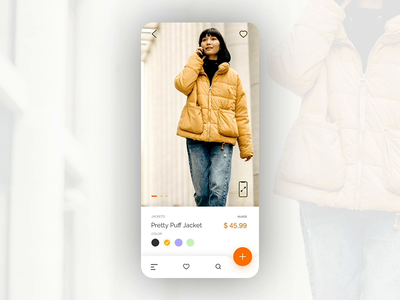 E-commerce Product Page Video Interaction interaction animation pwa ecommerce mobile product design ui ux