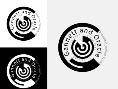 Gannett and Oracle Logo