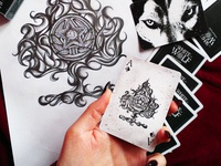 Playing Cards Illustration