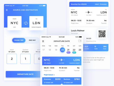 Lao Airlines Application interface colors ios ticket airlines application app ux ui