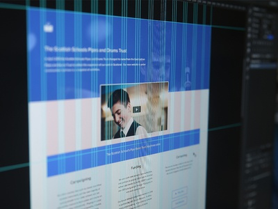 Charity Landing Page WIP landing page charity website ui design web design