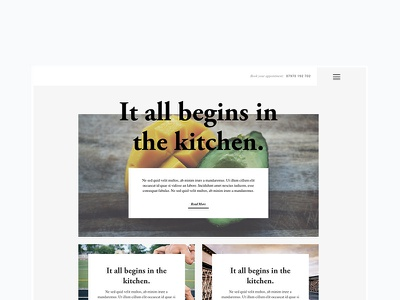 Health Blog health blog website ui design web design