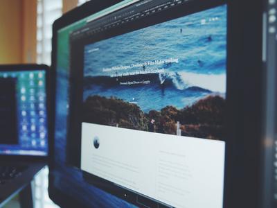 Portfolio WIP portfolio blog website ui design web design