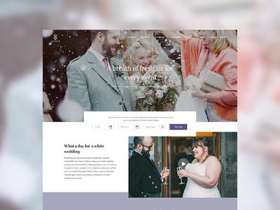 Ardoch House WIP corporate scotland wedding hotel hospitality ui design website design