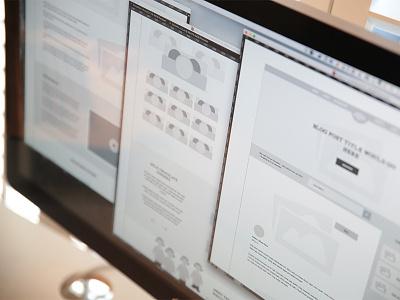 Wireframes web design ui design wireframe