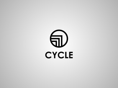 Logotype Cycle logotype cycle interior vector logo design