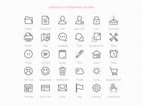 30 Beautiful Icon Sets