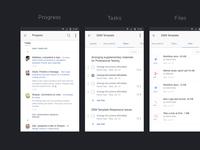 Teamwave Android App UI