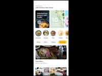 Foodie App Prototype