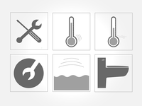 Save Home Heat icons
