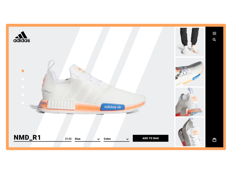 Adidas NMD_R1 Product Page