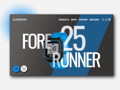 Garmin Redesign Web