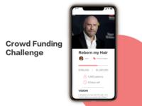 "John's ""Crowdfunding Campaign"" DailyUI 032"