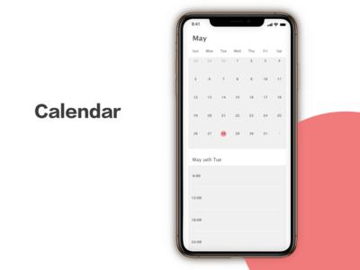 """Calendar"" DailyUI 038"