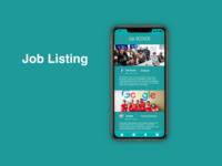 """""""Job Listing"""" DailyUI 050"""