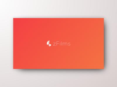 "zFilms ""logo design"" DailyUI 052"