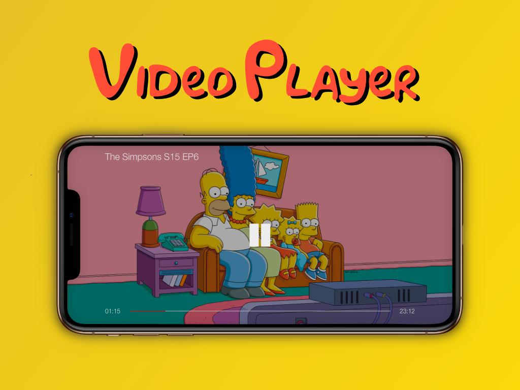 """Video Player"" DailyUI 057 dailyui videoplayer"