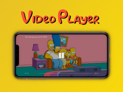 """Video Player"" DailyUI 057"
