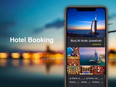 """Hotel Booking"" DailyUI 067"