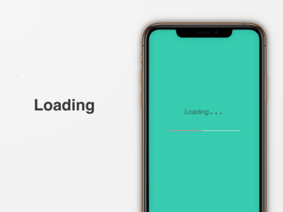 """Loading"" DailyUI 076"