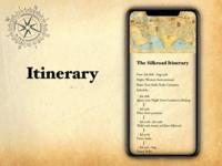 """Itinerary"" DailyUI 079"