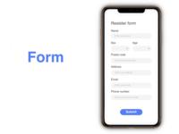 """""""Form"""" DailyUI 082"""