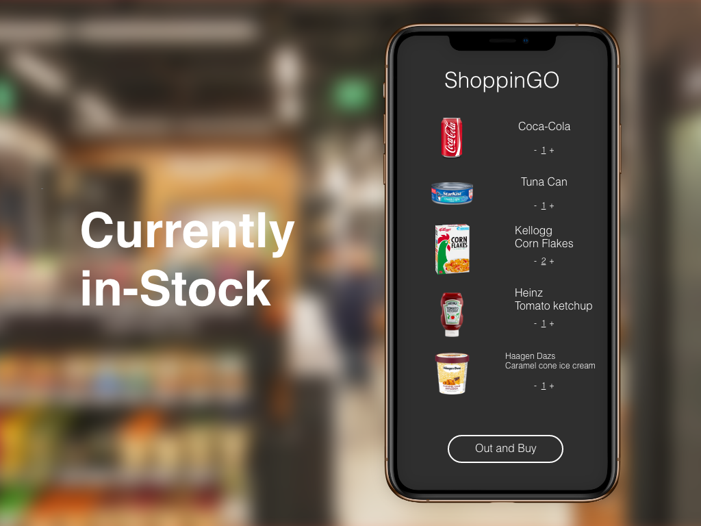 """ShoppinGO """"Currently in-Stock"""" DailyUI 096 dailyui instock currentry shopping"""