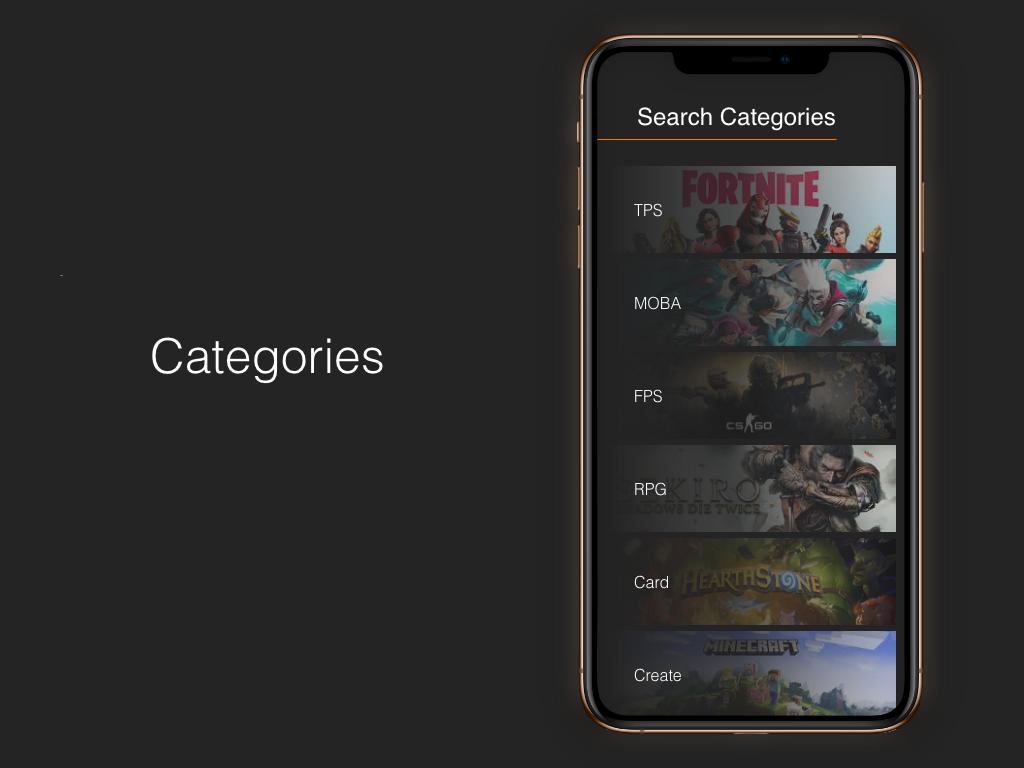 """Category"" DailyUI 099 category"