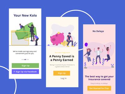 Kolo Savings App Design