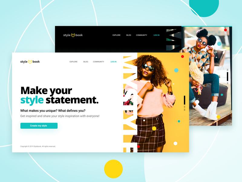 Daily UI #003 - Landing Page design website ui dailyui 001 dailyui