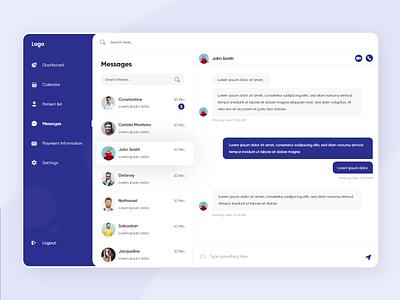 Messages web design web ux user interface user experience ui task management style guide shopify product design messaging message interface design inbox desktop design system design dashboad chat app