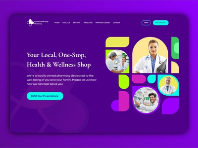 Health Care Landing Page Ui UX 3d design medical website design doctor app healthcare illustrator app icon animation vector logo flat ux minimal branding 3d typography ui illustration design website web