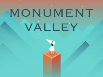 Monument Valley 2.5D game design illustration visual effects