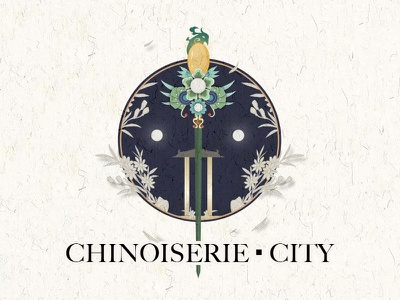 CHINOISERIE ad design graphic visual effects illustration