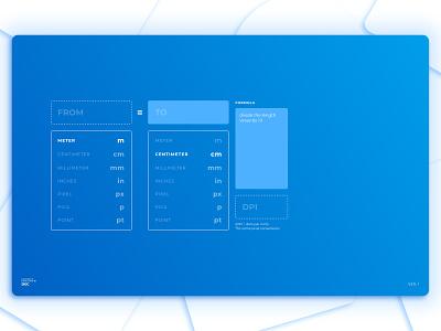 WeConvert - Web Converter user inteface web user experience prototype user experience design user center design ui flat design minimal clean