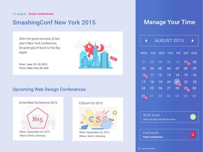 Full Calendar Events
