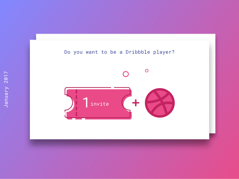 Dribbble invite free shot template psd sketch by madalina dribbble invite d stopboris Image collections
