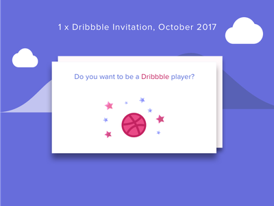 Invite Oct 2017 0 667x illustration material design dribbble invite invite invitation