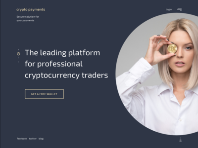 Slider for cryptocurrency payment solution