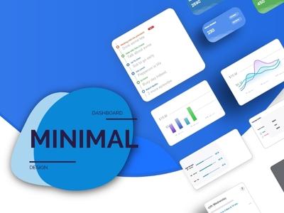 Minimal Dashboard Design UI KIT