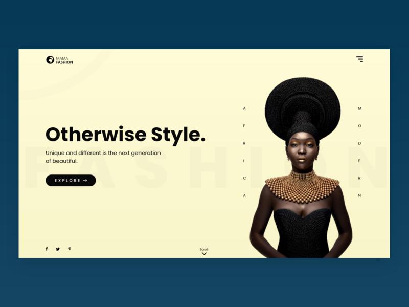 MamaFashion - African Fashion Website