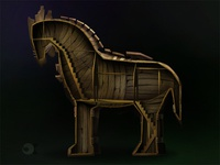 Trojan horse Interior