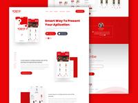 YoBar Landing Page Design