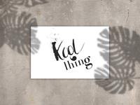 Kool Thing clothing brand logo