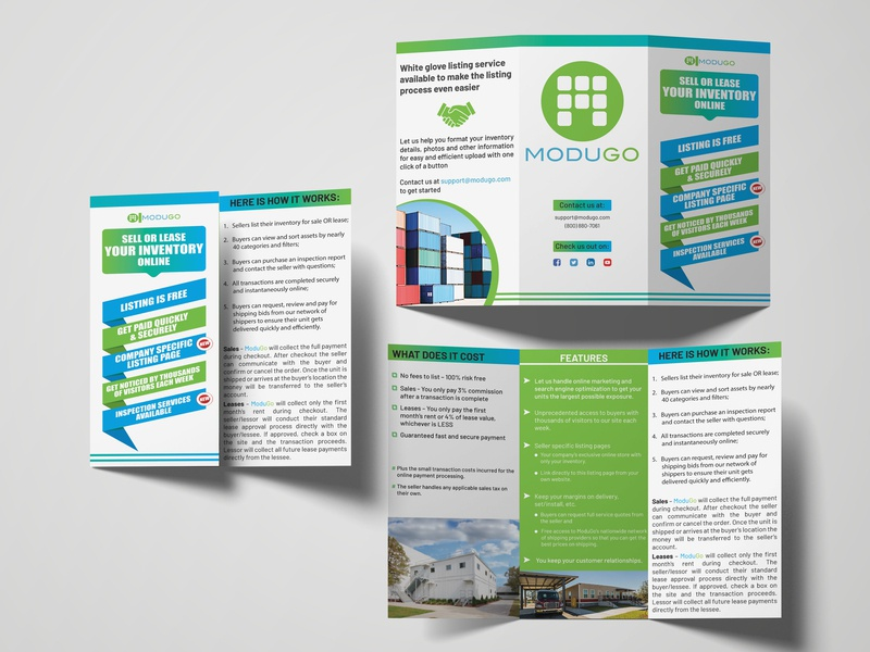 Corporate Tri-fold Brochure by B H Ripon on Dribbble