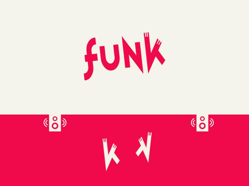 Music Logo #1 - Funk branding typography minimal illustration logo music minimalist logo music logo music art