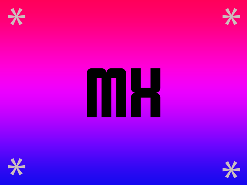 MX -  Logitech logotype design logotype font design rebound mx